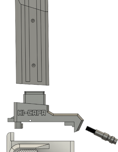 Adapter 3D render2